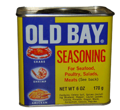 Can of Old Bay Seasoning