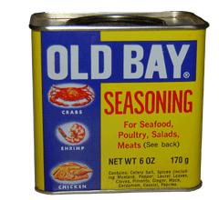 Can of Old Bay Seasoning